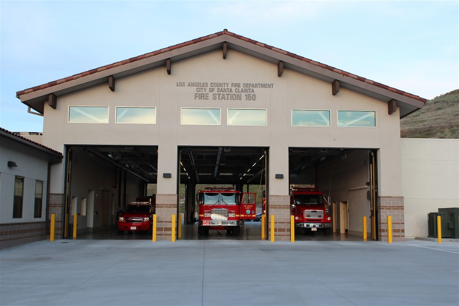 Fire Station No. 150 - Golden Valley, SCV (Battalion HQ)