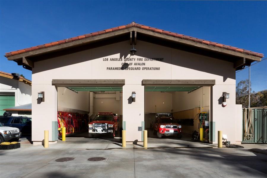 Fire Station No. 440 - Avalon Lifeguard & Paramedics (Catalina Island)