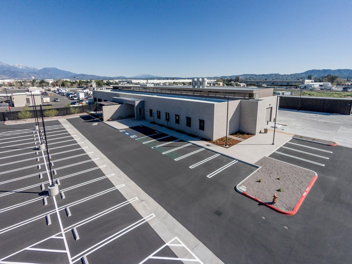 San Bernadino Forensic Lab