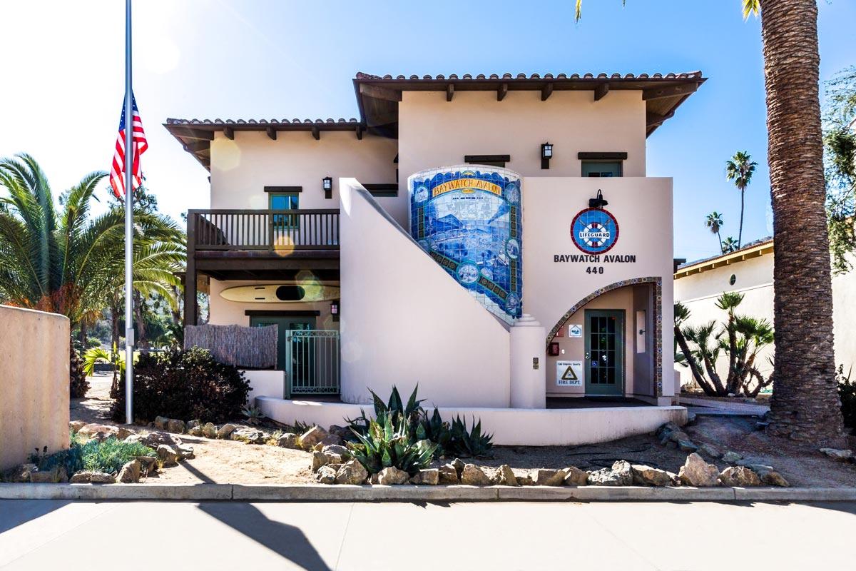 Avalon Baywatch Lifeguard Paramedic Station