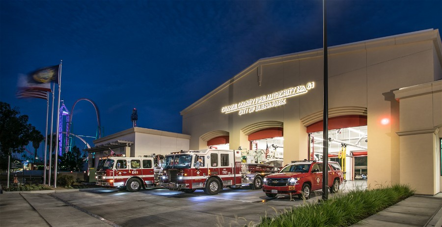 Fire Station No. 61 - Buena Park, CA