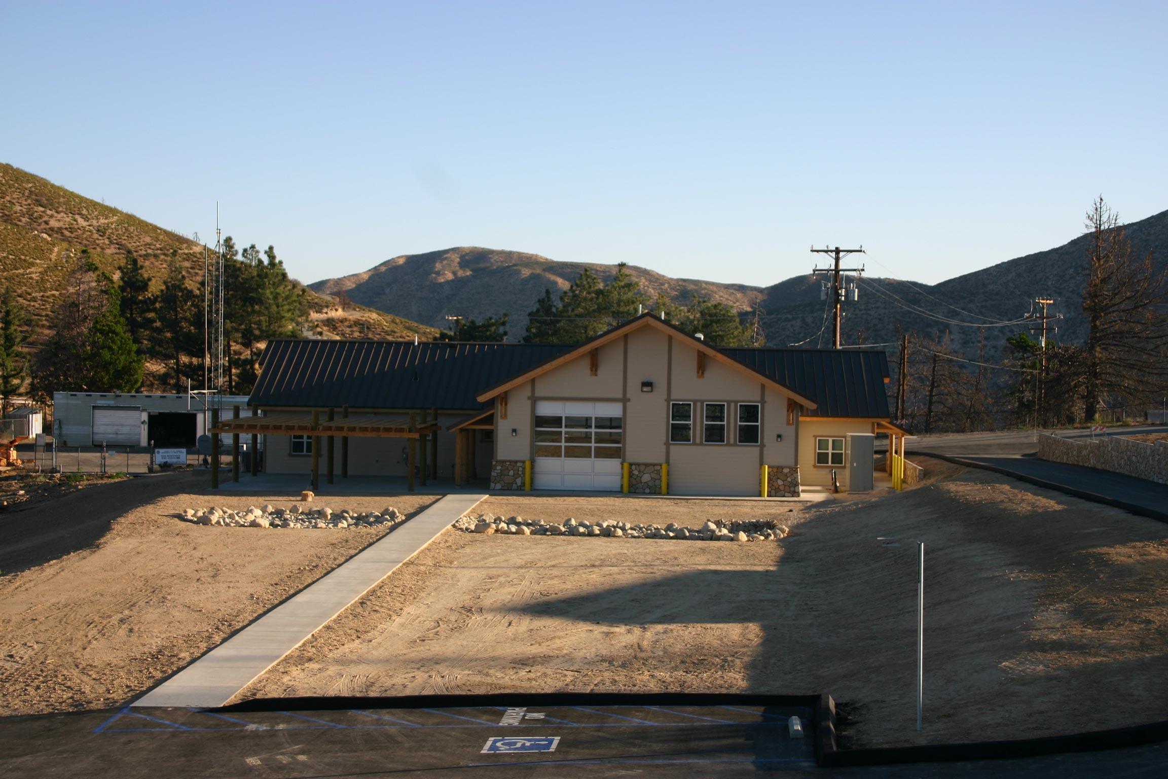 USDA Forest Service, Mill Creek Fire Station & Barracks
