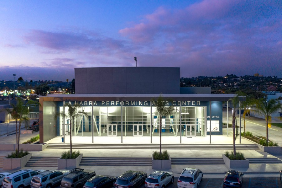 La Habra High School New Theater and Stadium (La Habra, CA)