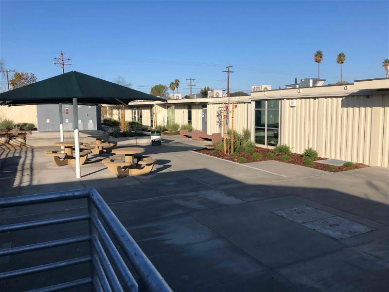 Sierra Vista Junior High School – Classroom Containers (Santa Clarita, CA)